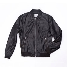 Male PU biker jacket